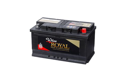 Wilco Royal accu 80 Ah – W58035